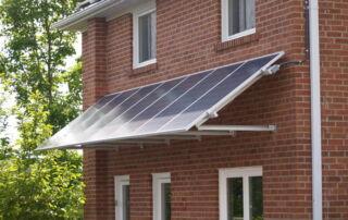 Kinetic Solar wall mount