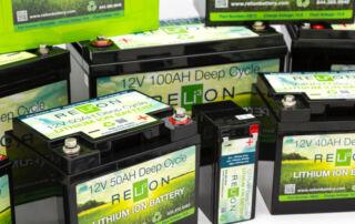 Relion batteries closeup