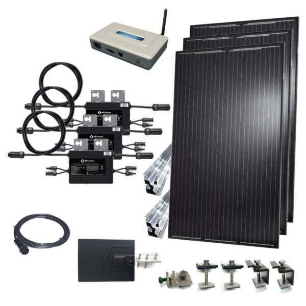 10kW Grid-Tie Kit (Micro-Inverters)