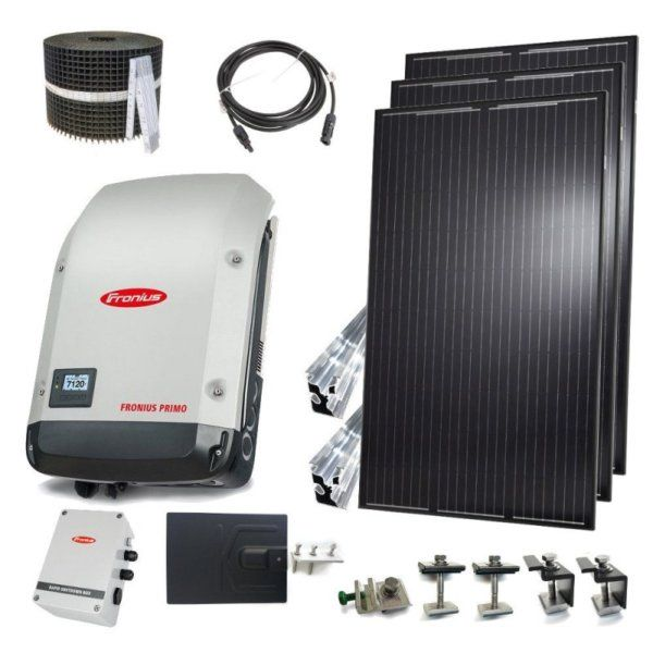 6kW Grid-Tie Kit (String Inverter)